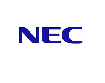 2018/05 日商NEC頒感謝狀給皇輝科技公司